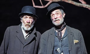 Ian McKellen and Roger Rees in Waiting for Godot
