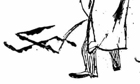 A detail from a 1930s cartoon by EO Plauen