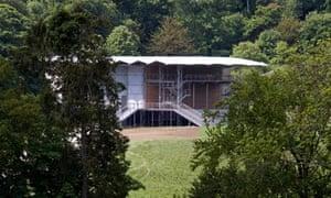 Garsington Opera's temporary pavilion
