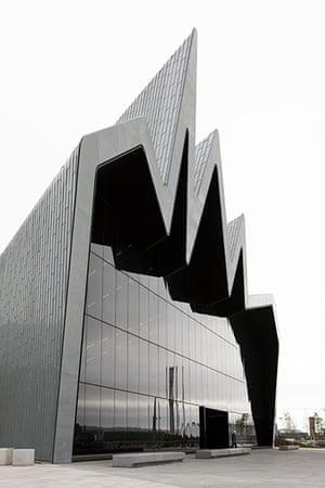Zaha Hadid: The Riverside Museum, Kelvinside by architect Zaha Hadid
