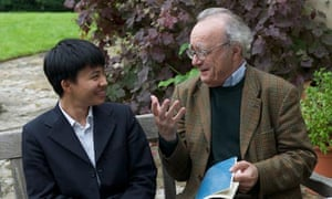 Kit Armstrong and Alfred Brendel