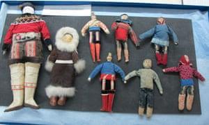 Dolls at the Polar Museum, Cambridge