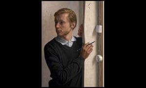 Wim Heldens, Distracted, winner of the BP Portrait award