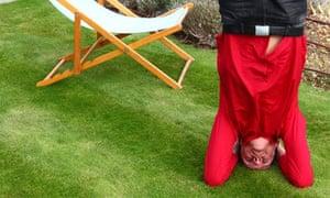Rolf Hind in meditative mode