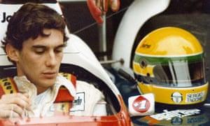 Film still from Asif Kapadia's doccumentary Senna