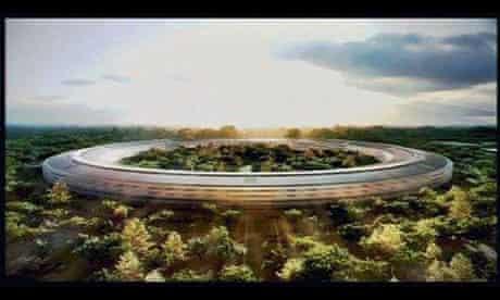 Proposed Apple headquarters in Cupertino, California
