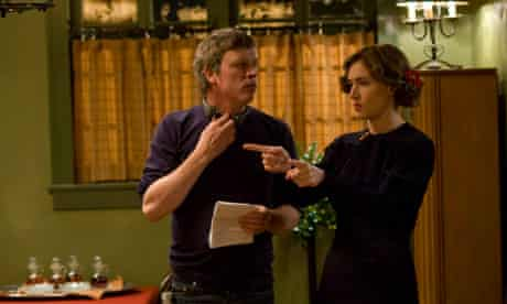 Todd Haynes on set with Kate Winslet