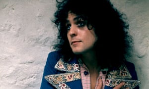 Marc Bolan of T Rex in 1972