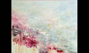 Cy Twombly, Hero and Leandro, 1985.