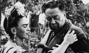 Kahlo and Rivera in the 1940s