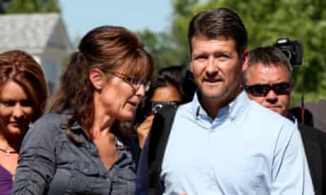 Sarah Palin and Todd Palin at the premiere of The Undefeated