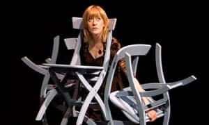 Lucy Ellinson in Presumption by Third Angel at the Theatre Workshop in Edinburgh
