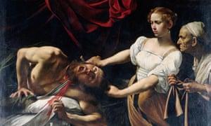 Caravaggio's Judith Beheading Holofernes (1597-1598)