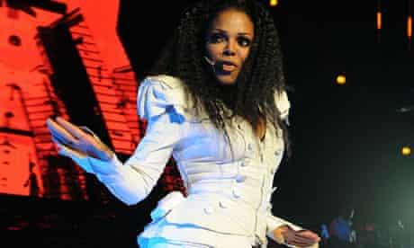 Janet Jackson in concert at Royal Albert Hall