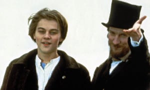Leonardo DiCaprio as Rimbaud and David Thewlis as Verlaine in Total Eclipse