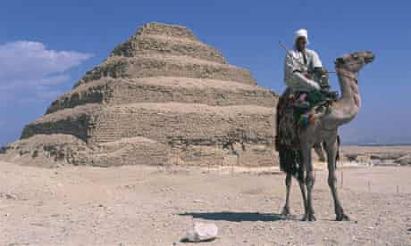 Step on the gas ... inflatable bags could save the collapsing pyramid of Djoser at Saqqara