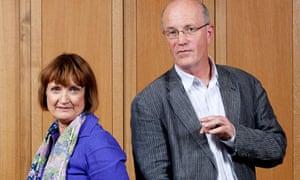Tessa Jowell and Iain Sinclair.