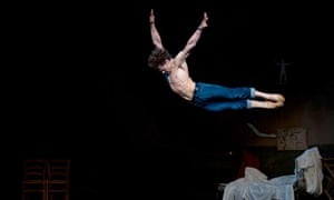 Ivan Vasiliev rehearses with the English National Ballet for Le Jeune Homme et la Mort