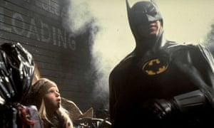 Michael Keaton in Batman by Tim Burton