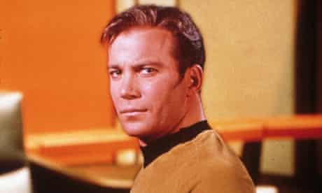 William Shatner as Star Trek's Captain Kirk, in 1968