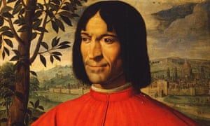 Lorenzo (the Magnificent) de' Medici (1449-92) by Girolamo Macchietti