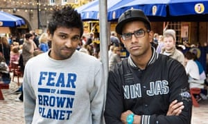 Fear of a Brown Planet's Rahman and Hussain