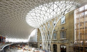 King's Cross redevelopment: the new concourse