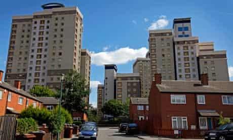 Nottingham University sprawls across the Hartley Road area of Nottingham