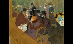 toulouse lautrec and the real story of the moulin rouge art and design the guardian. Black Bedroom Furniture Sets. Home Design Ideas