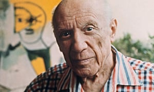 Pablo Picasso in Mougins, France