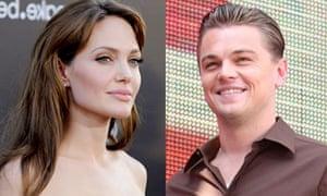 Angelina Jolie and Leonardo DiCaprio
