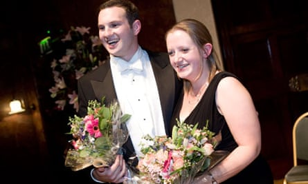 Marcus Farnsworth, winner of the 2009 Wigmore Hall competition, with pianist Elizabeth Burgess