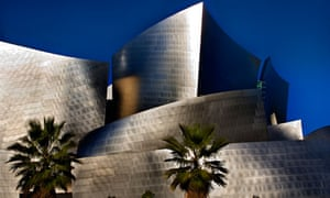 Frank Gehry's Walt Disney Concert Hall, in downtown Los Angeles