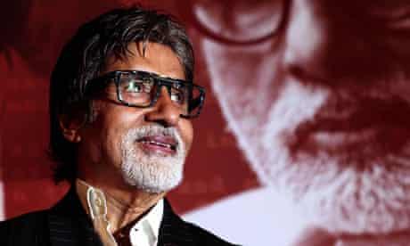 Bollywood film actor Amitabh Bachchan