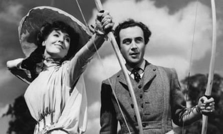Valerie Hobson and Dennis Price in Kind Hearts and Coronets