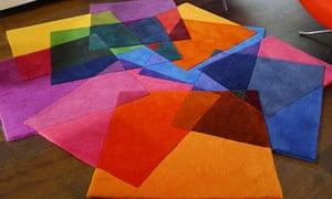Sonya Winner's After Matisse rug at the London design festival