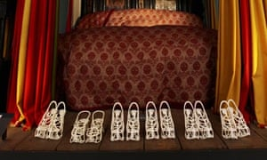 Murray Moss's Elizabethan prostitutes' shoes for the London design festival