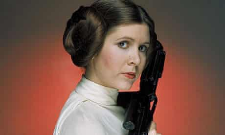 Carrie Fisher as Princess Leia in Star Wars: Episode IV - A New Hope (1977)