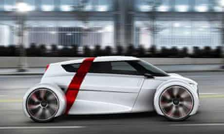 Audi has unveiled its new Urban Concept car