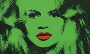 Andy Warhol: Brigitte Bardot, 1974.