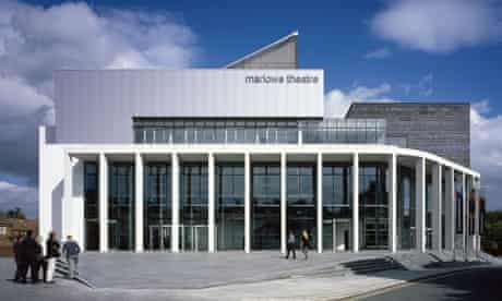 New Marlowe Theatre in Canterburym, designed by Keith Williams architects