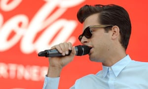 Mark Ronson at the launch of Coca-Cola's London 2012 Olympic Games campaign