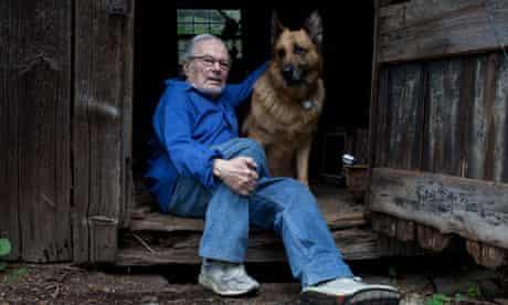 Maurice Sendak, children's author, at his home in Connecticut