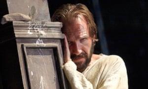 Ralph Fiennes as Prospero in Trevor Nunn's Tempest at Theatre Royal Haymarket