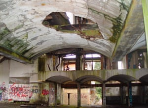 Holy communion … the abandoned seminary of St Peter's at Cardross, near Glasgow