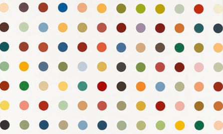 Full Circle The Endless Attraction Of Damien Hirst S Spot Paintings Damien Hirst The Guardian