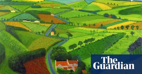 David Hockney landscapes: The wold is not enough | Art and design