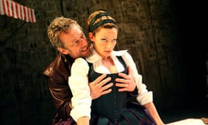 Stephen Boxer and Michelle Gomez in The Taming of the Shrew