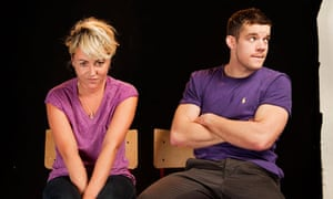 Jaime Winstone and Russell Tovey: the start of something