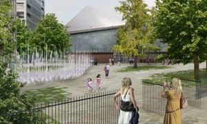 OMA design for new Design Museum